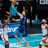 Hornets Dominate Rockets in 4th Quarter, Ball Drains Career-High ...