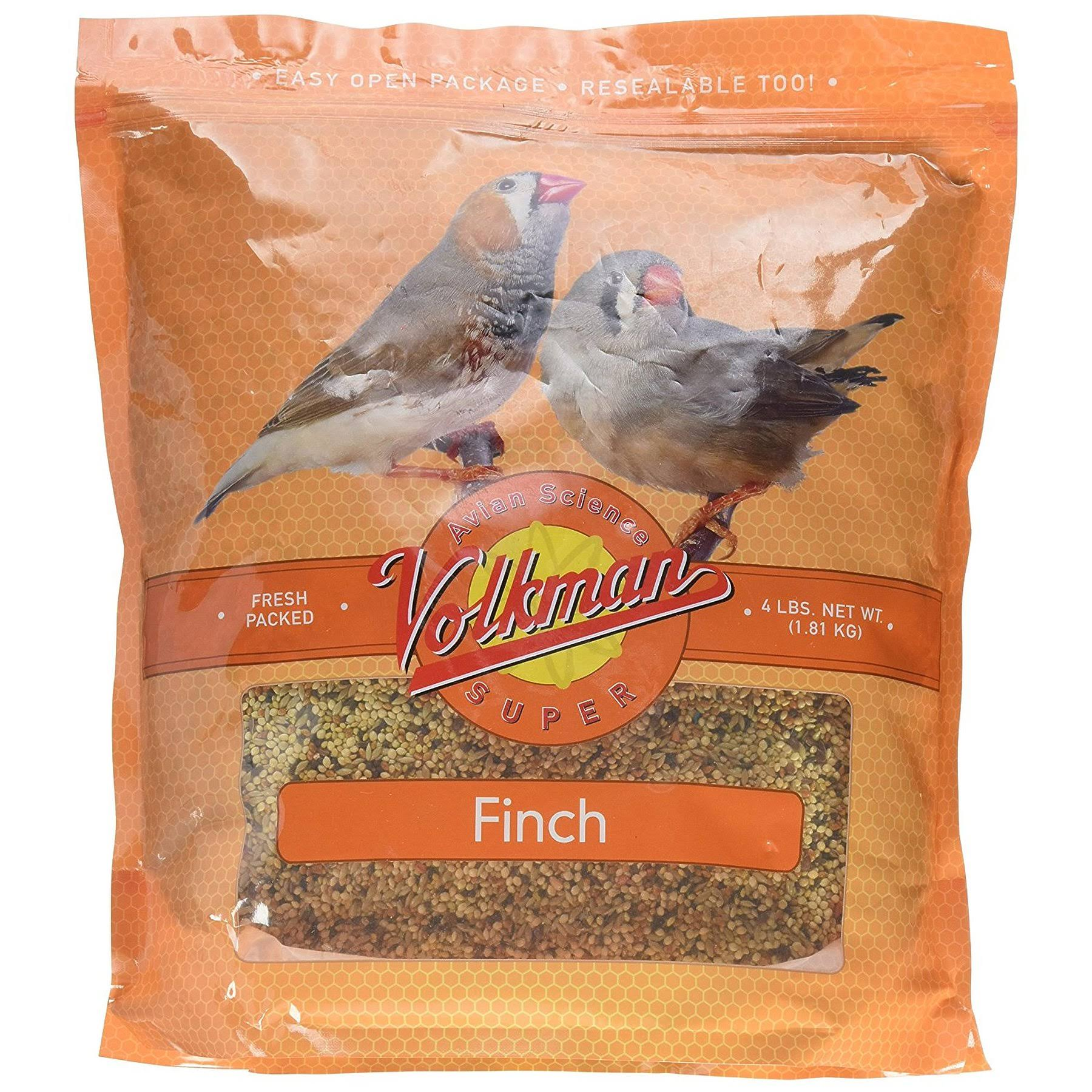 Volkman Avian Science Super Finch - 4lb