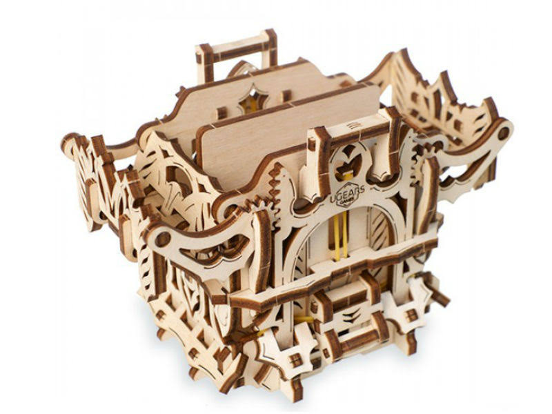 Ugears UTG0053 Deck Box Wooden 3D Model Kit