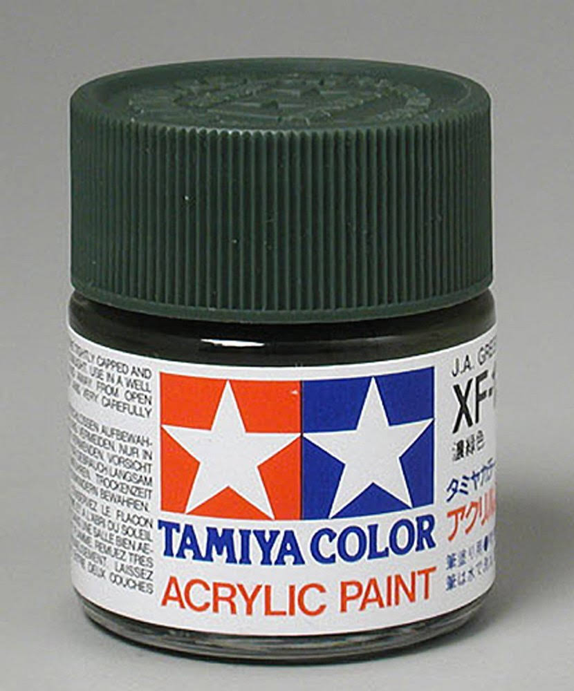 Tamiya Acrylic XF11 Japanese Navy Green 3/4 oz