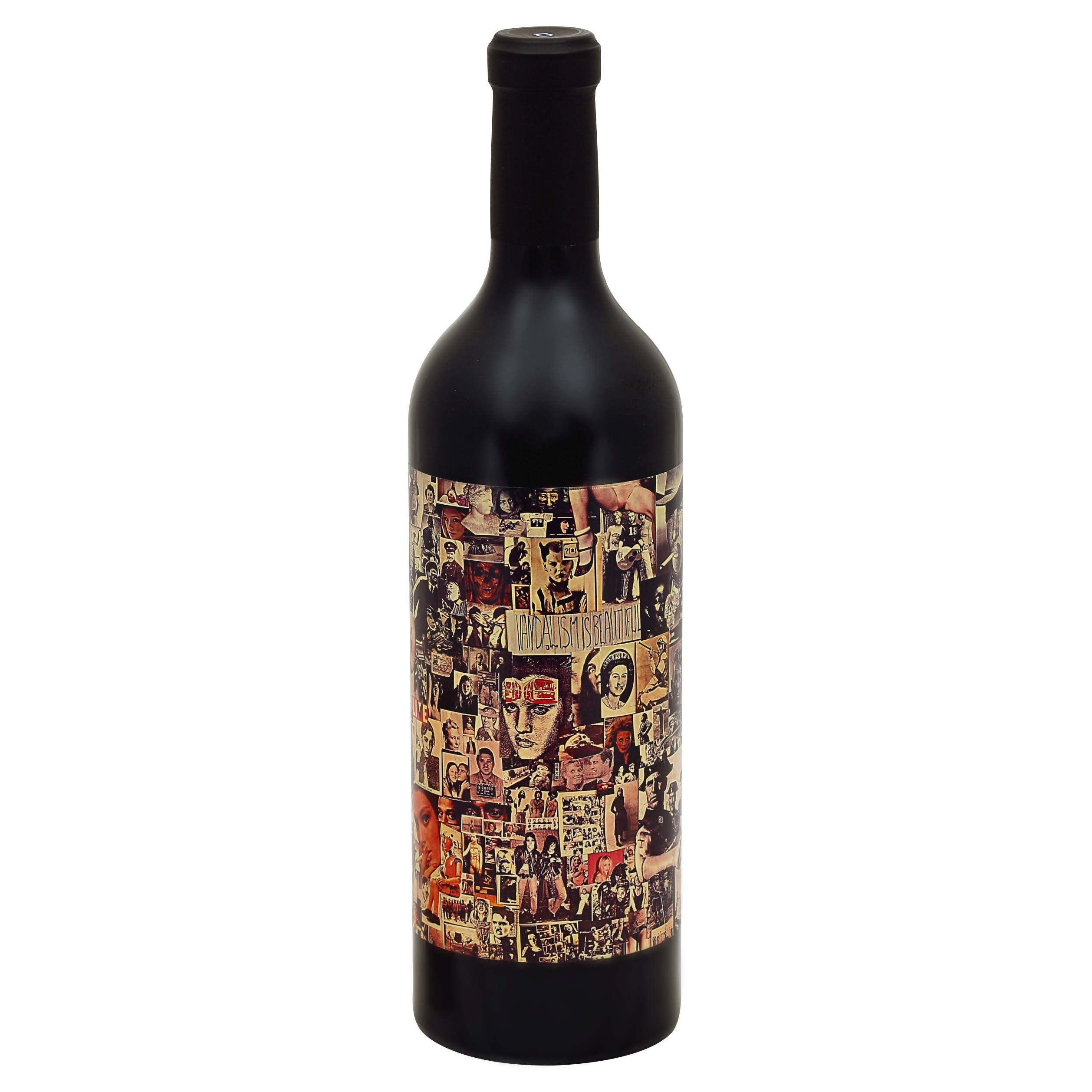 Abstract Red Wine, California, 2016 - 750 ml