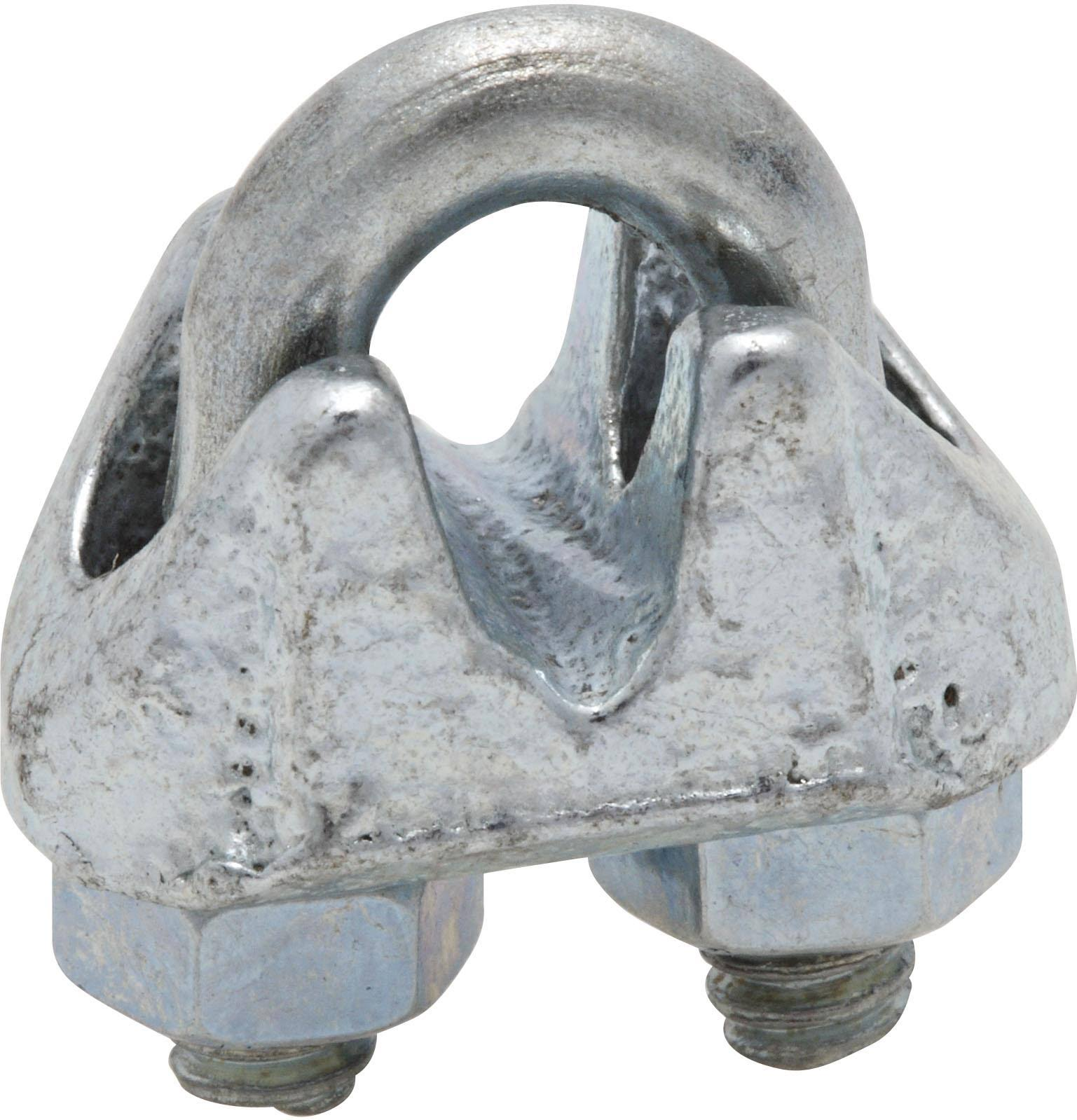 "National Hardware Wire Cable Clamp - 1/8"", Zinc Plated"