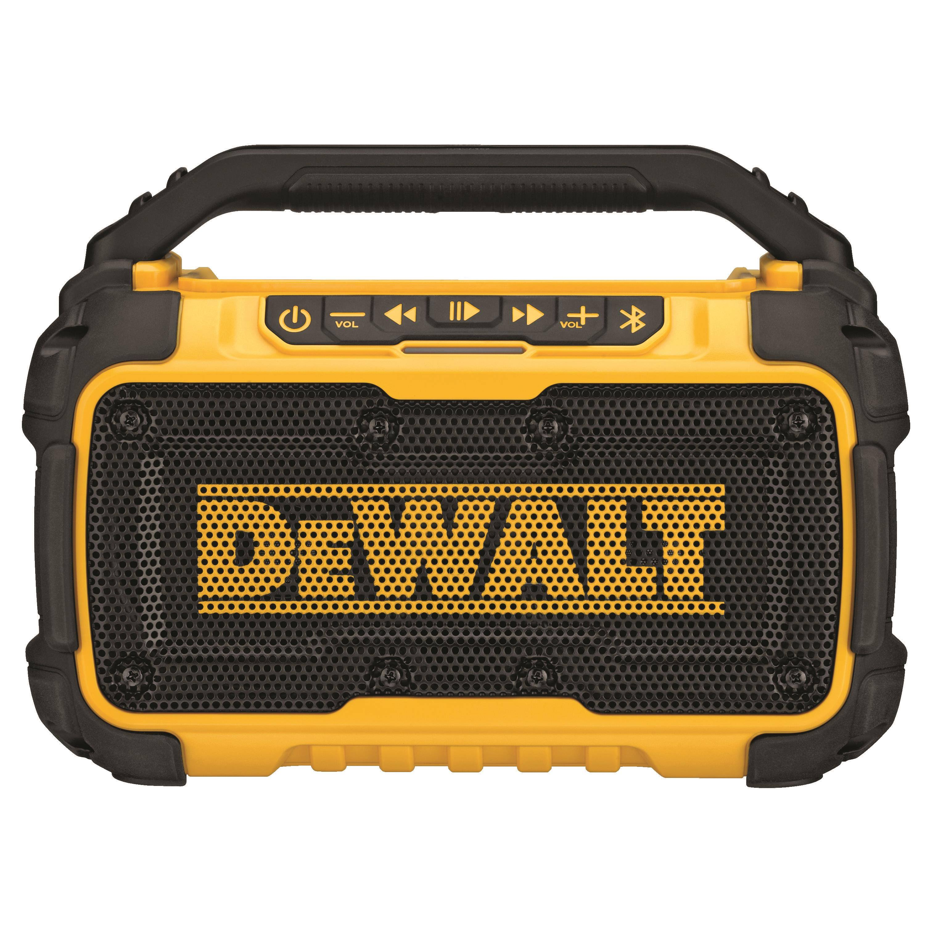 DeWalt 20V MAX Lithium-Ion Jobsite Bluetooth Speaker