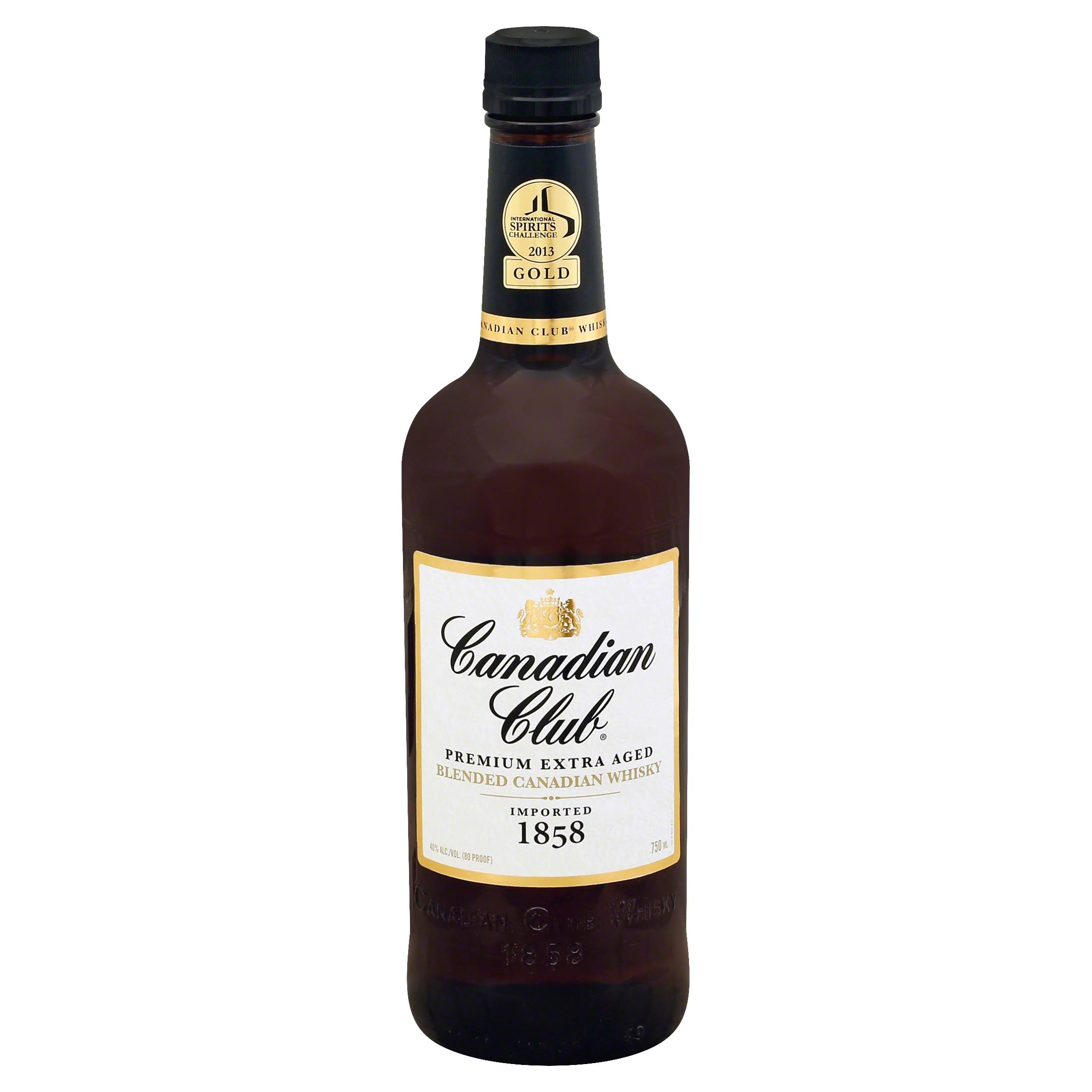 Canadian Club Barrel Blended Whiskey