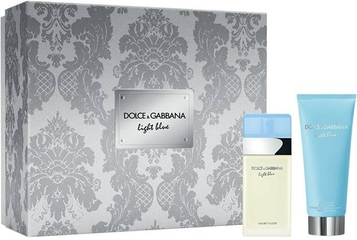 Dolce & Gabbana Light Blue Eau De Toilette + Body Cream Gift Set - 2pc