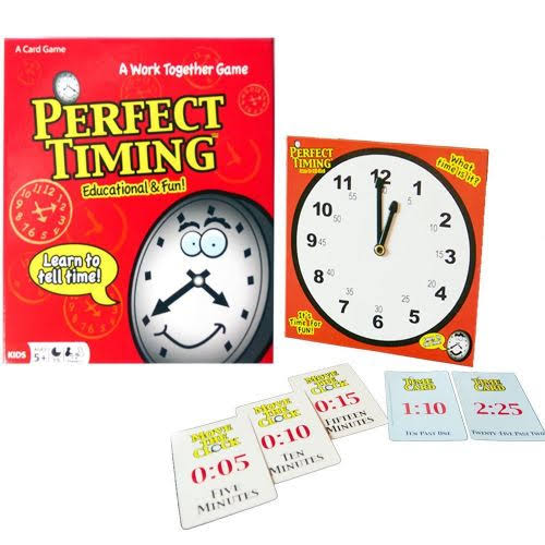 Continuum Games Perfect Timing Card Game