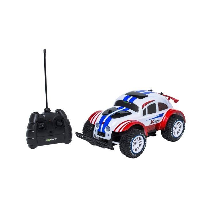 Exost 20127 x Rider 2 remote Control Car, Red and White, Echelle 1/12
