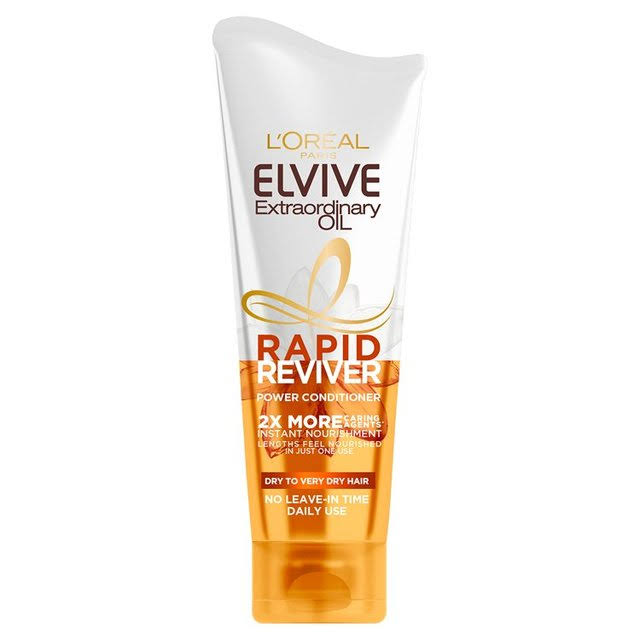 L'Oreal Elvive Extraordinary Oil Rapid Reviver Power Conditioner - 180ml