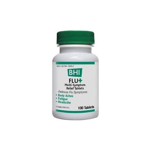 BHI Fluplus Multi Symptom Relief Tablet - 100ct