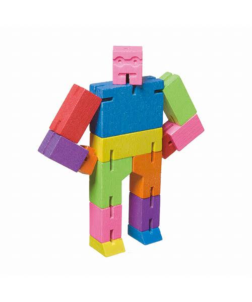 Micro Cubebot Brain Teaser Puzzle - Multi Colour