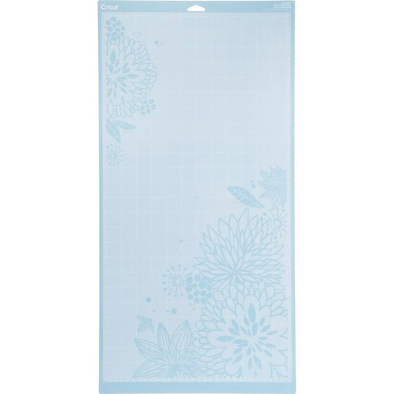 Cricut Cutting Mat, Light Grip, Blue
