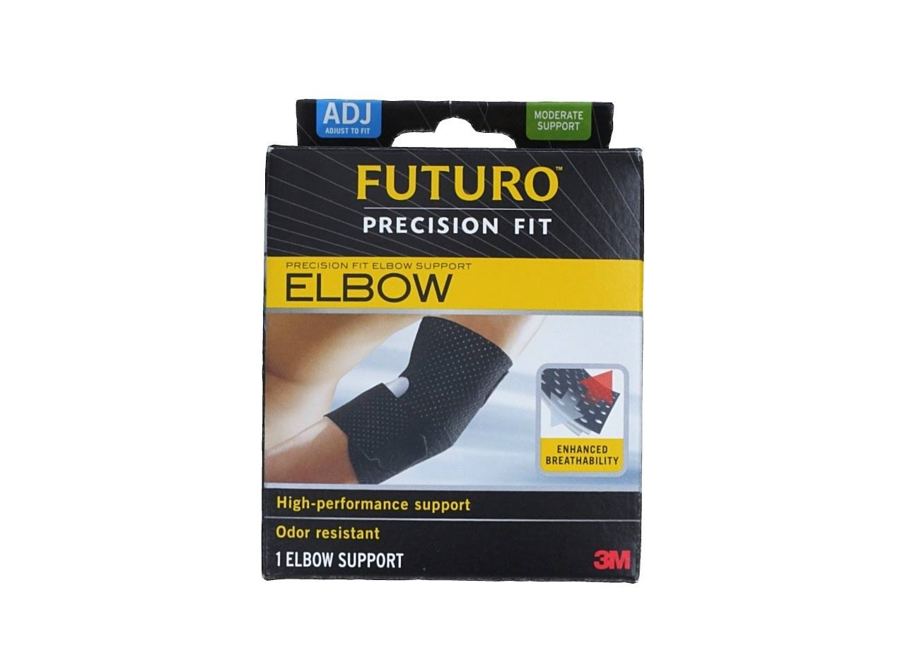 Futuro Infinity Precision Fit Adjustable Elbow Support - Black