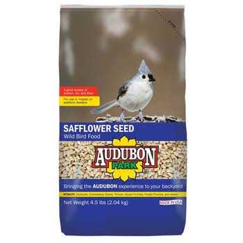 Audubon Park Wild Bird Food, Safflower Seed - 4.5 lbs (2.04 kg)