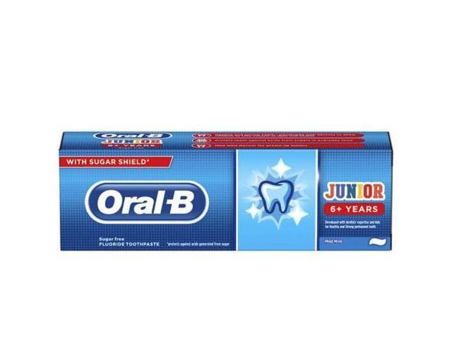 Oral-B Junior Toothpaste - 75ml
