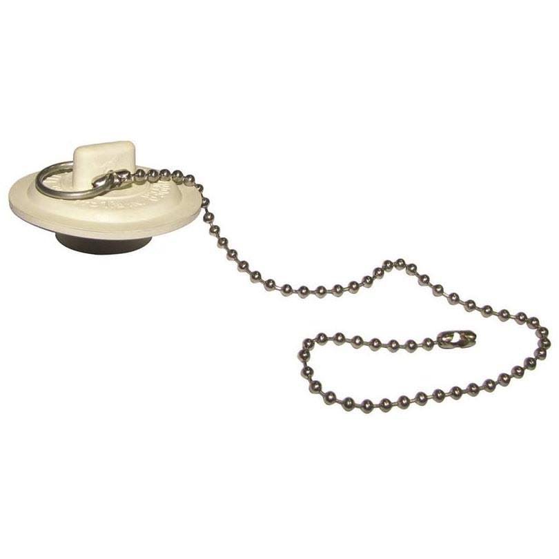 "Plumb Pak Basin Stopper - with 11"" Chain"