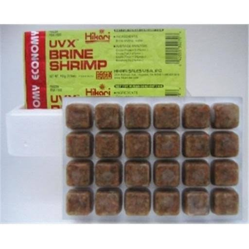 Hikari Bio-Pure Frozen Brine Shrimp Fish Food - 100g