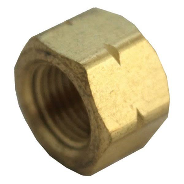 JMF Yellow Brass Lead Free Pipe Cap - 1/2""
