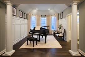Cook Brothers Living Room Furniture by Music Room Estates At Cohasset By Toll Brothers Interior