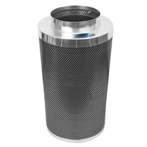 "Phresh Carbon Filter - with Flange Can Control, 8"" x 24"""