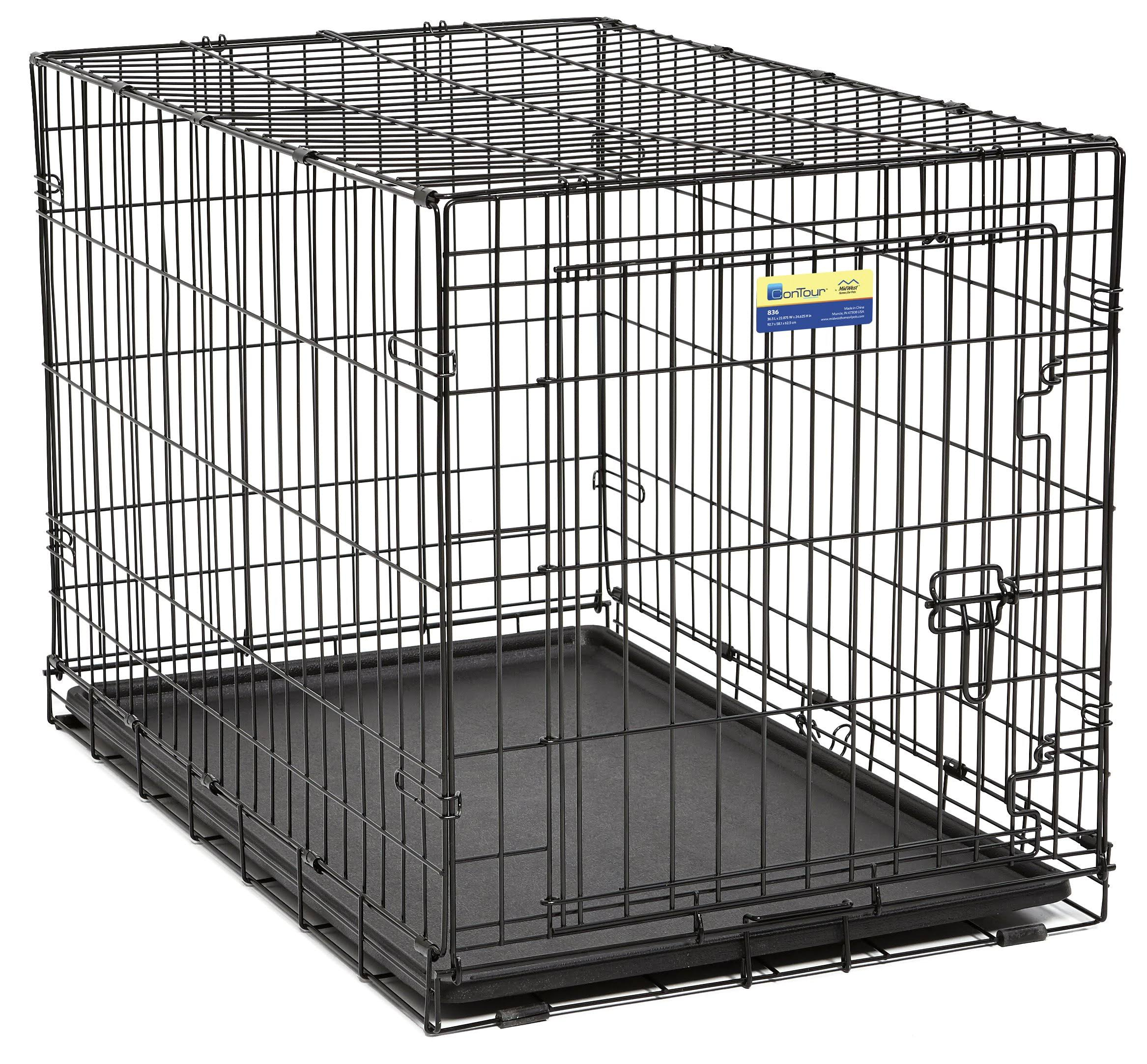 Midwest Metal Products Contour Single Door Dog Crate
