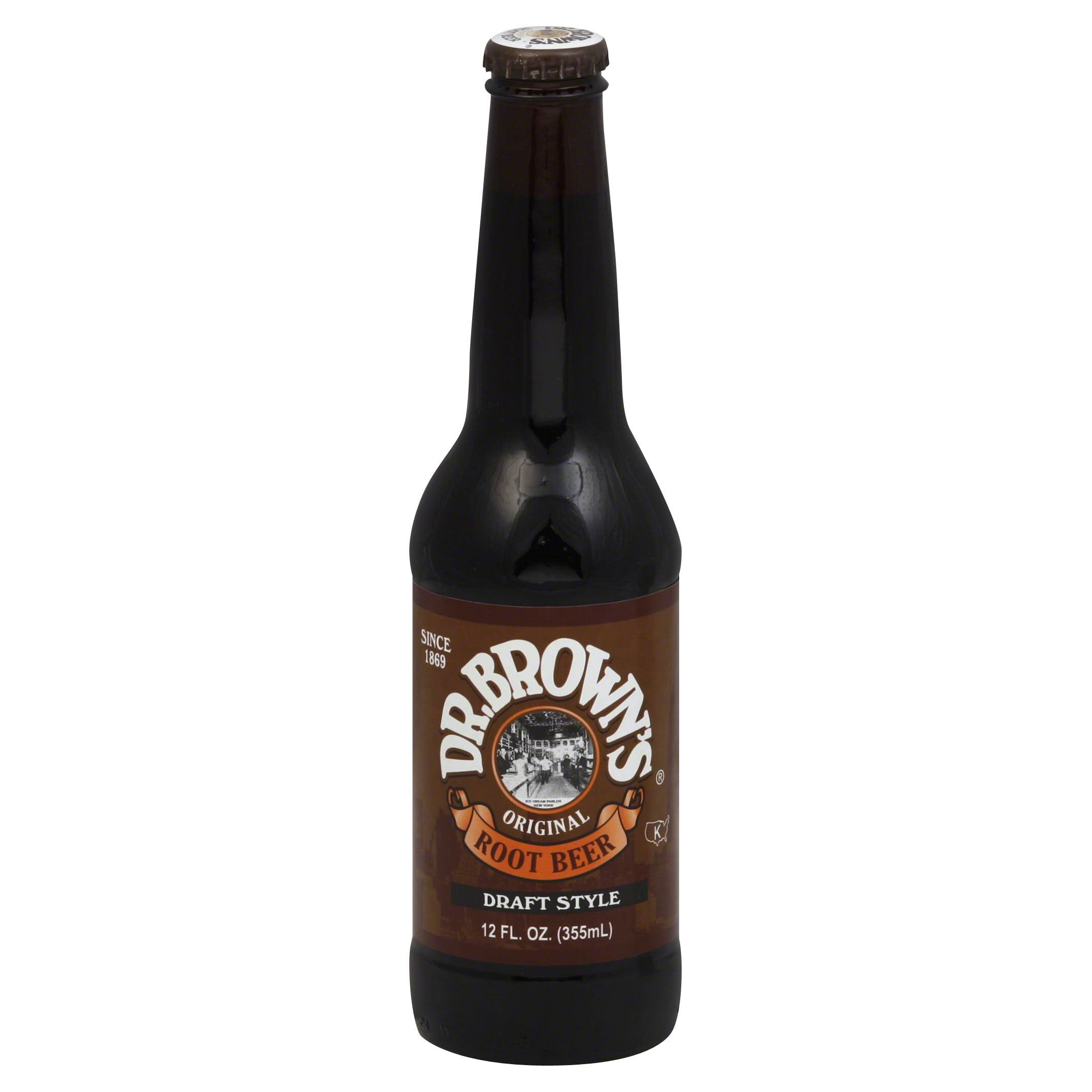 Dr Brown's Root Beer - 12oz