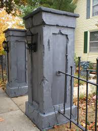 Halloween Cemetery Fence by Skull Wood Fence Diy Google Search Cemetery Entrances For