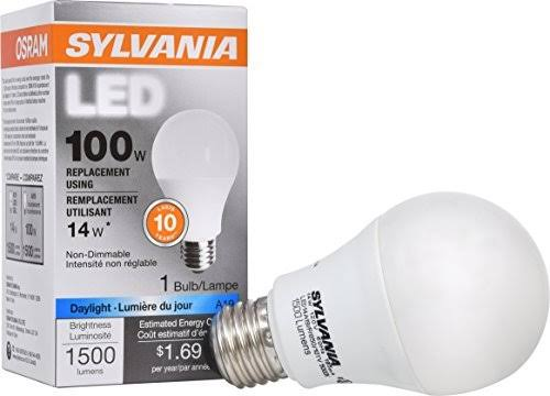 Sylvania LED Light Bulb - A19, 100W