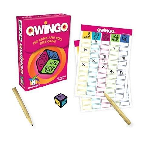 Qwingo Dice Game - The Rank and Roll