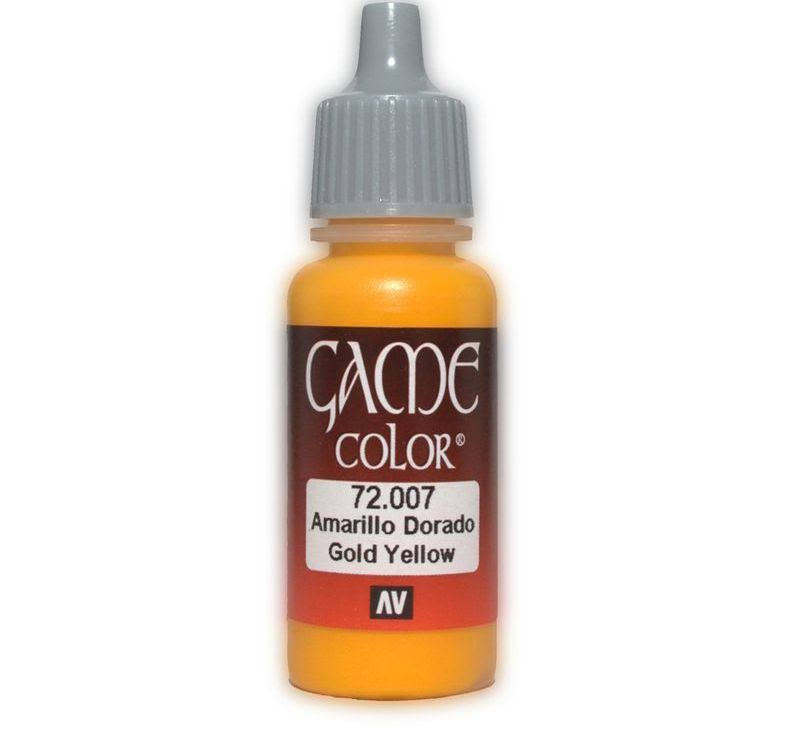 Vallejo Game Color Paint - Gold Yellow, 17ml