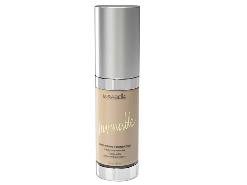 Mirabella Invincible Anti-Aging Full Coverage HD Liquid Foundation - Ivory