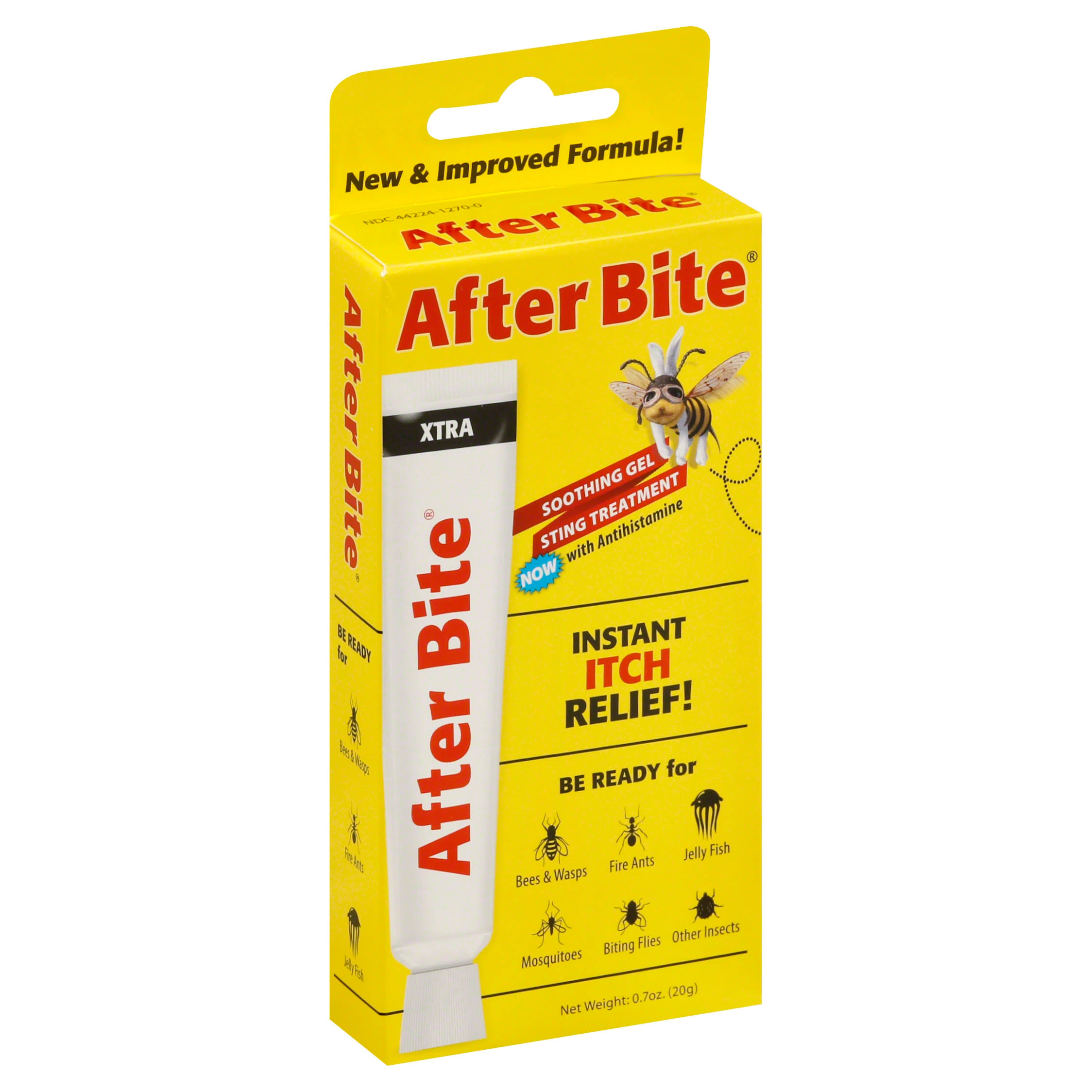After Bite Fast Relief Itch Eraser Xtra Soothing Gel - 0.7oz
