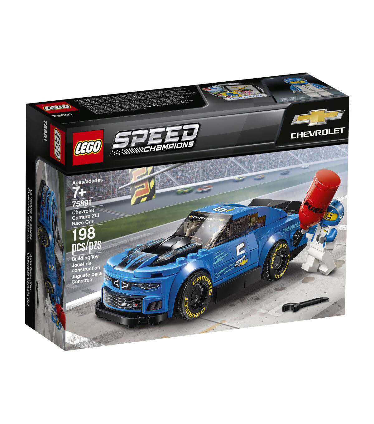 Lego 75891 Speed Champions Chevrolet Camaro ZL1 Race Car