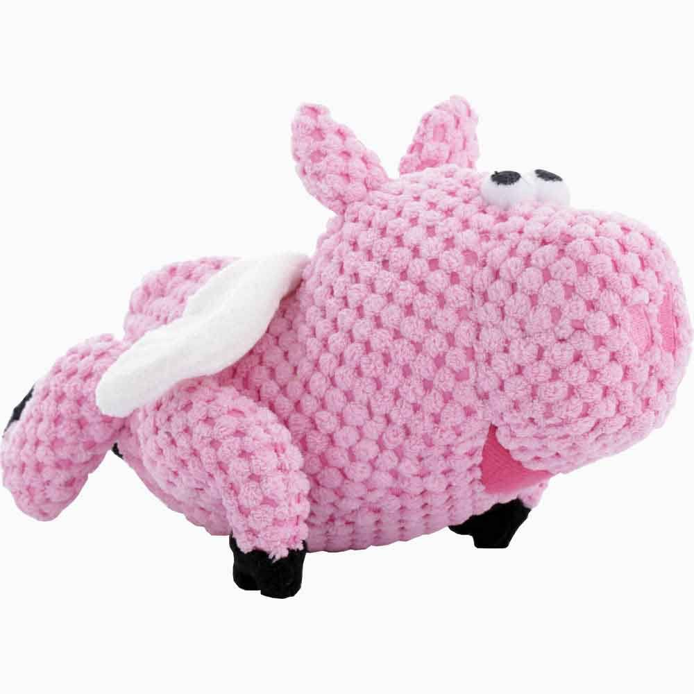 GoDog Checkers Flying Pig With Chew Guard