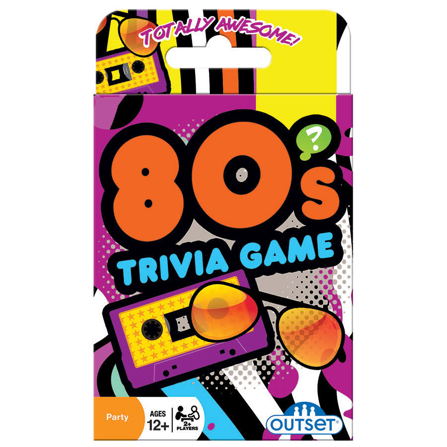 Outset Media 80s Trivia Card Game