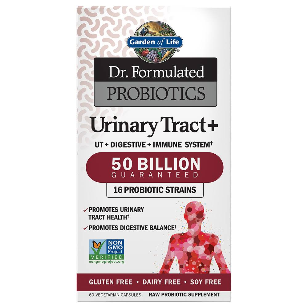 Garden of Life Dr. Formulated Probiotics Urinary Tract Plus