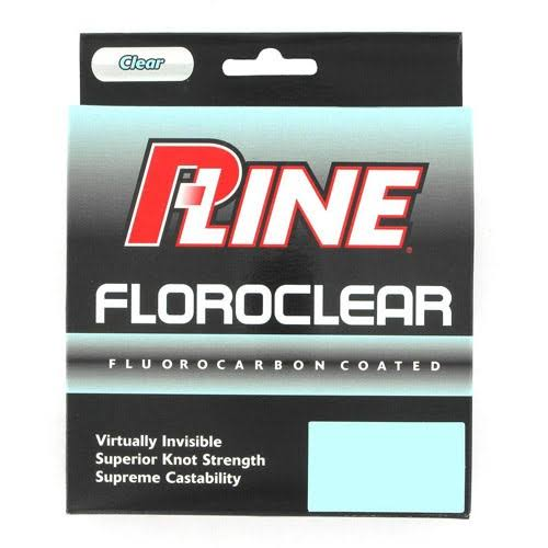 P Line Floroclear Filler Spool Fluorocarbon Fishing Line - 300yds