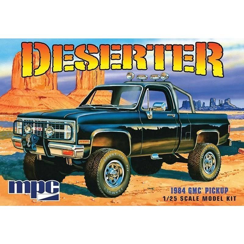 MPC MPC847 Plastic Model Kit - 1984 GMC Pickup, Scale 1/25