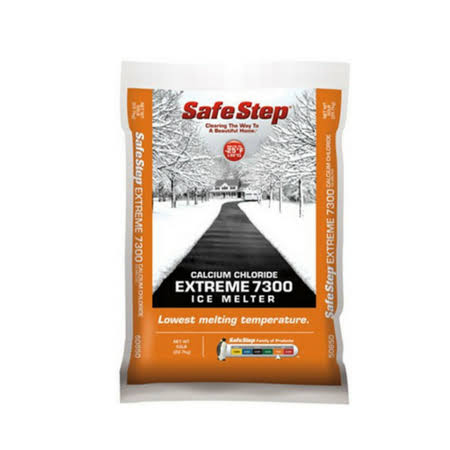 North American Salt 50850 Extreme 7300 Calcium Chloride Ice Melter - 50lbs