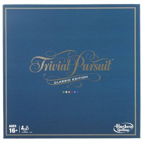 Hasbro Trivial Pursuit Classic Edition Board Game