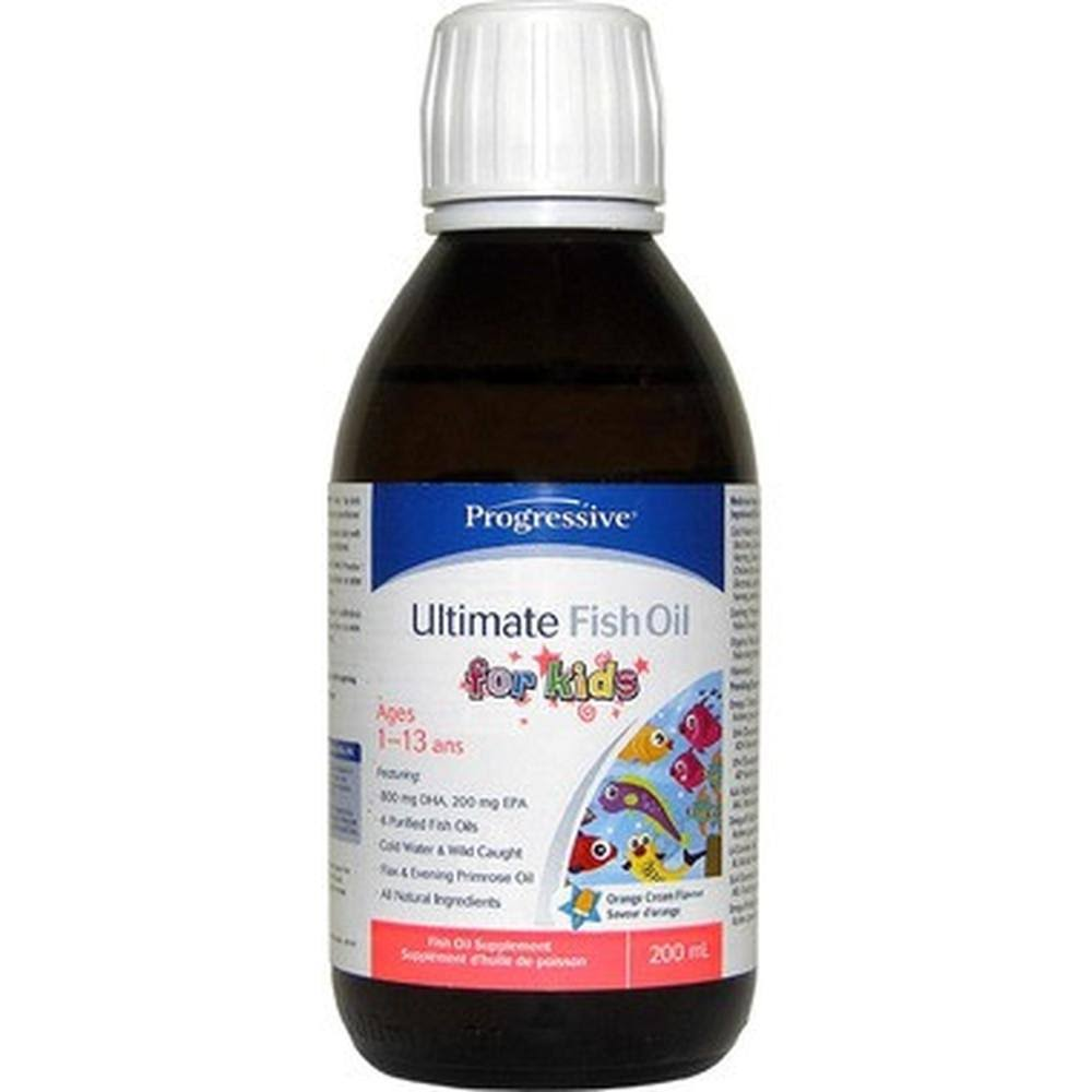 Progressive Ultimate Fish Oil for Kids - 200ml