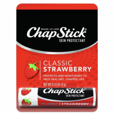 Chapstick Lip Balm - Strawberry