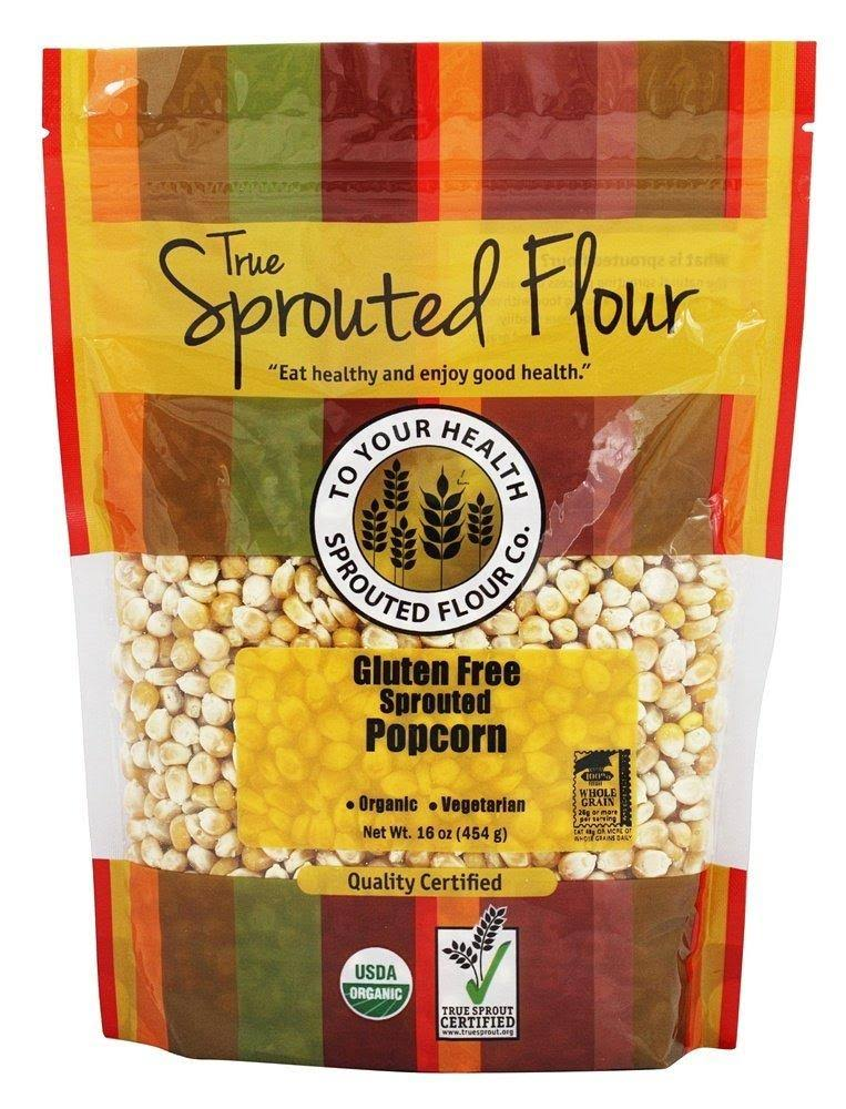 to Your Health Organic GlutenFree Sprouted Popcorn 16 oz.
