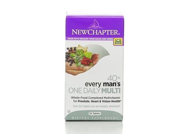 New Chapter Every Man's Dietary Supplement - 72 Tablets