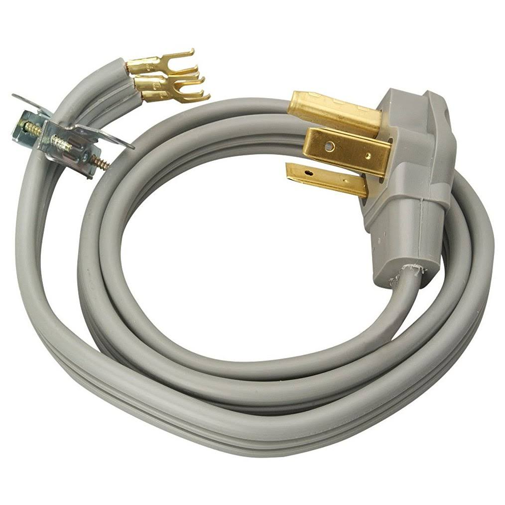 Coleman Cable 09124 4' Dryer Cord - Grey