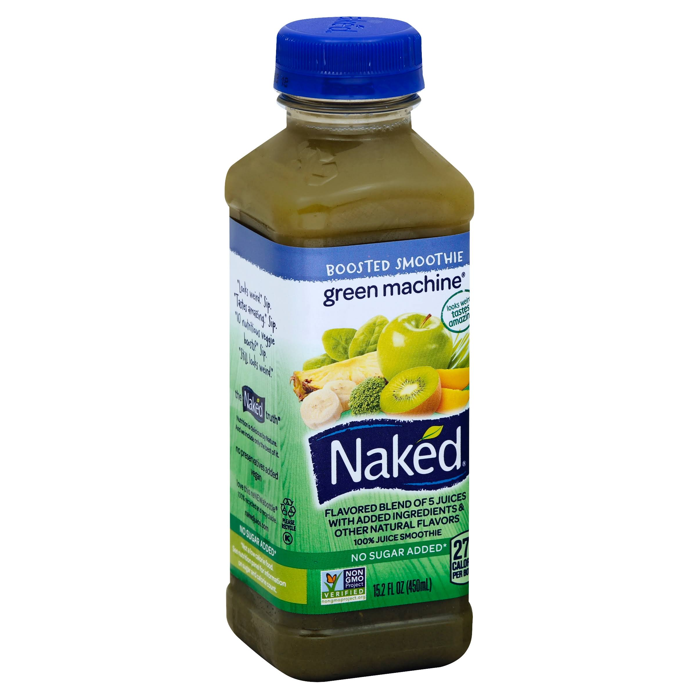 Naked Green Machine 100% Juice Smoothie - 450ml