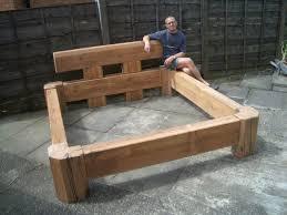 wooden platform bed plans bed frame plan outdoor furniture