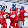 Hokej cesko Rusko