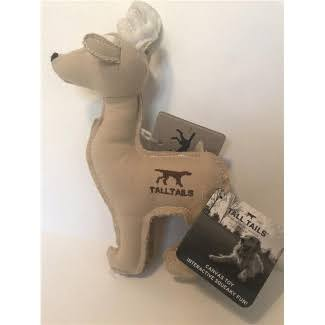 Tall Tails 88217020 CC Squeaker Deer Canvas Dog Toy - 9 in.
