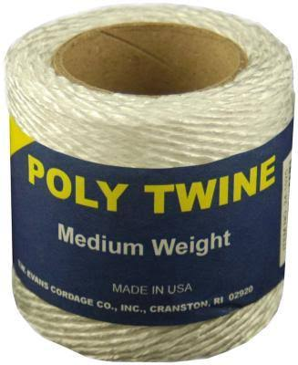 Twine White Poly 160 ft
