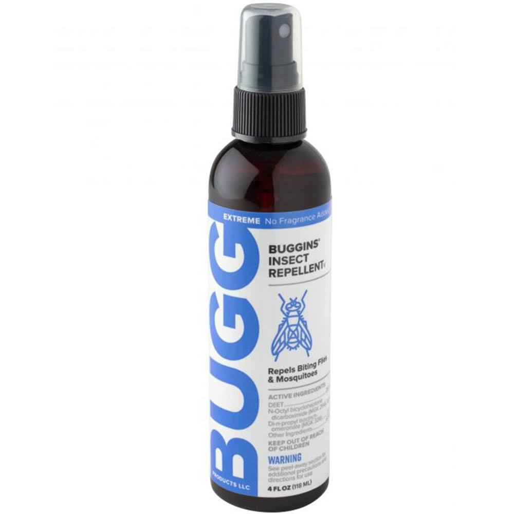 Buggspray Insect Repellant for Biting Flies Mosquitoes & Ticks - 118ml